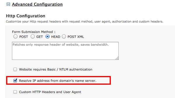 how to find server name from ip address