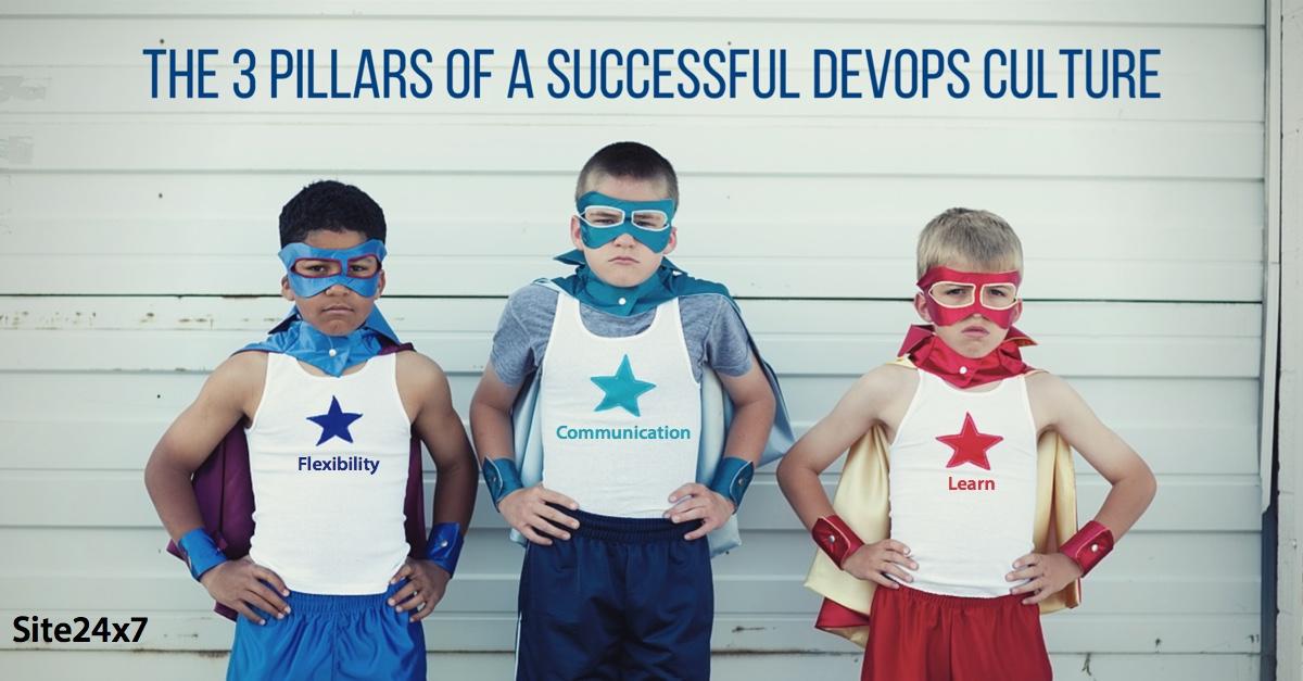 The Three Pillars of a Successful DevOps Culture