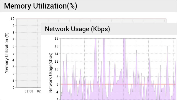Memory and Network Utilization